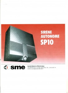 photo alarme 2000 sirene systeme de securite absolu alarme