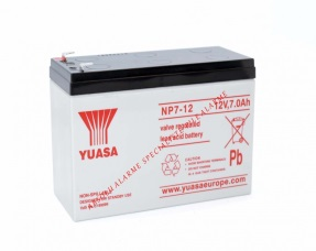 Yuasa - Batterie 12V 7Ah