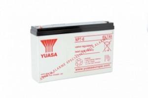 Yuasa - Batterie 6V 7Ah
