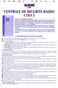 photo alarme n1 notice centrale de securite radio absolu alarme