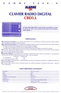 photo alarme n1 notice clavier radio digital absolu alarme