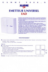 photo alarme n1 notice ead absolu alarme