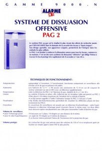 photo alarme n1 notice systeme de dissuasion absolu alarme
