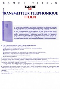 photo alarme n1 notice transmetteur telephonique absolu alarme