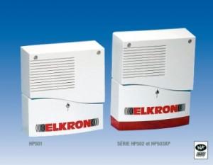 Elkron Sécurité - Sirènes extérieures HP501, HP502